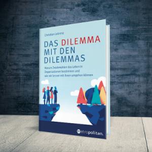 Coverabbildung Das Dilemma mit den Dilemmas mit Link auf die metropolitan-Seite