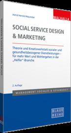 Abbildung des Titels Social Service Design und Marketing inklusive Link zum Buch