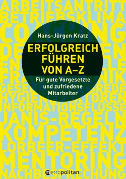 Coverabbildung Buch Erfolgreich führen von A-Z, Metropolitan
