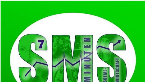 Logo des Youtube-Kanals SMS - Sieben Minuten Sozialwirtschaft