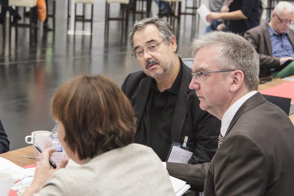 Prof. Dr. Brandl, Johannes Höfer (Geschäftsführer Walhalla) auf der ConSozial 2017