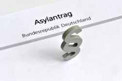 Symbolbild Asylantrag in Deutschland
