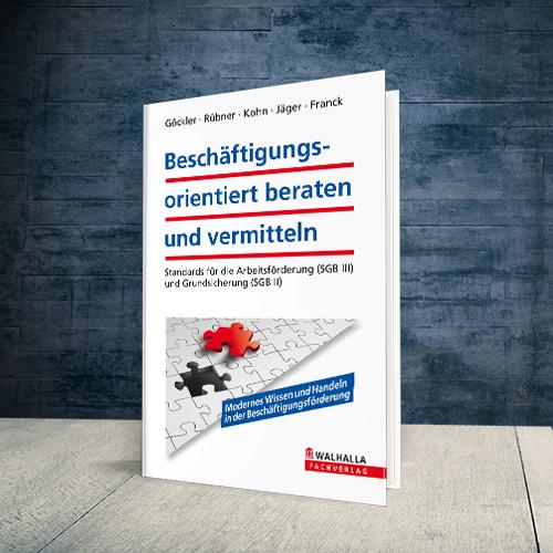 Coverabbildung Buch Beschäftigungsorientiert beraten und vermitteln