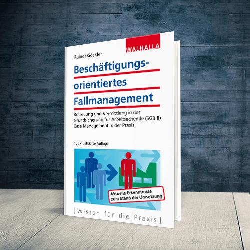 Coverabbildung Buch Beschäftigungsorientiertes Fallmanagement