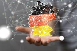 Symbolbild für die Digitalisierung Deutschlands