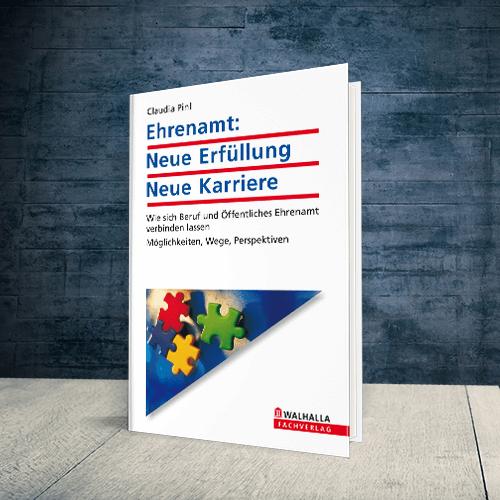 Coverabbildung Buch Ehrenamt: Neue Erfüllung, neue Karriere