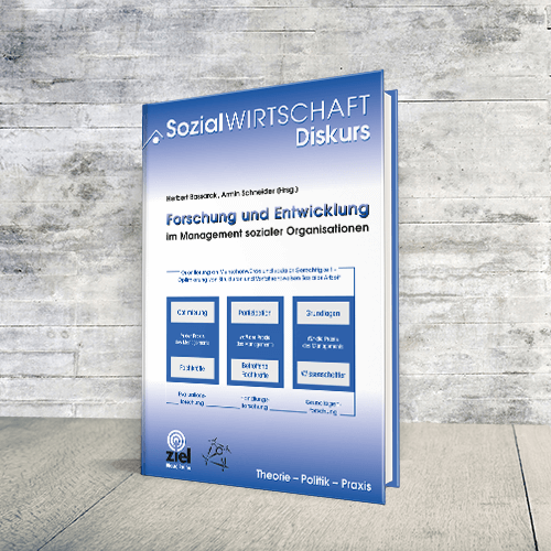 Coverabbildung Buch Forschung und Entwicklung - Im Management sozialer Organisationen