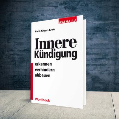 Coverabbildung Workbook Innere Kündigung erkennen verhindern abbauen