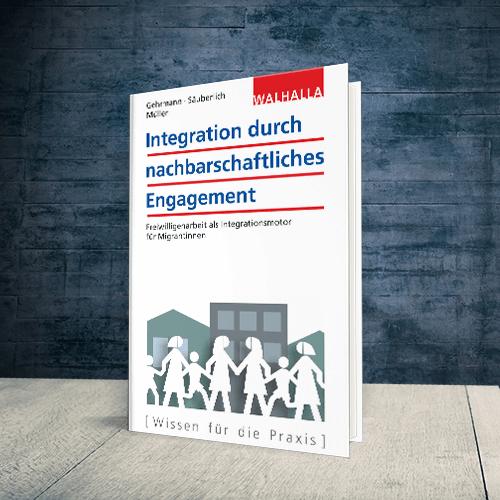 Coverabbildung Buch Integration durch nachbarschaftliches Engagement