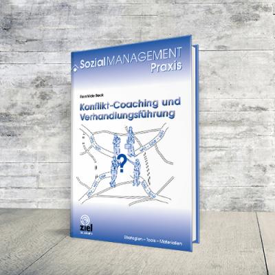 Coverabbildung Buch Konflikt-Coaching und Verhandlungsführung