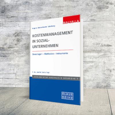 Coverabbildung Buch Kostenmanagement in Sozialunternehmen