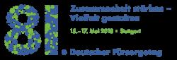 Logo Deutscher Fürsorgetag 2018