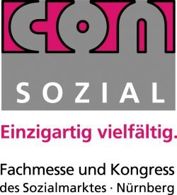 Logo der ConSozial - Fachmesse und Kongress des Sozialmarktes Nürnberg