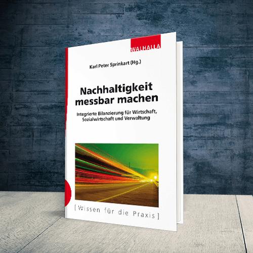 Coverabbildung Buch Nachhaltigkeit messbar machen