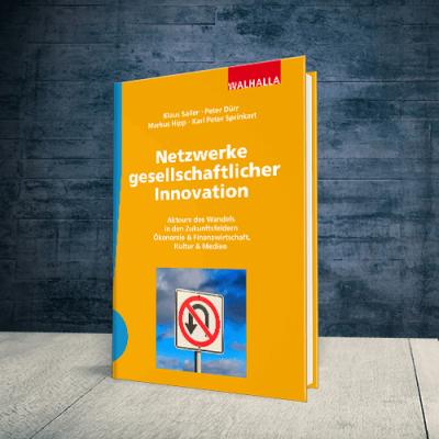 Coverabbildung Buch Netzwerke gesellschaftlicher Innovation
