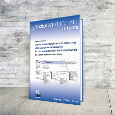 Coverabbildung Buch Neue Messverfahren zur Erfassung der Kundenzufriedenheit in der ambulanten Behindertenhilfe