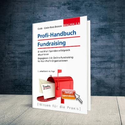 Coverabbildung Profi-Handbuch Fundraising