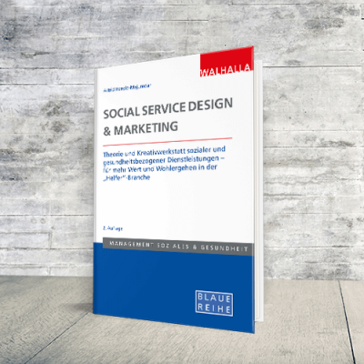 Coverabbildung Buch Social Service Design & Marketing