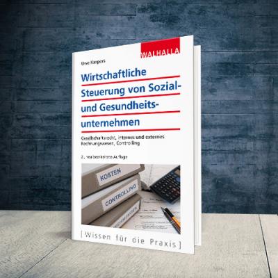Coverabbildung Buch Wirtschaftliche Steuerung von Sozial- und Gesundheitsunternehmen
