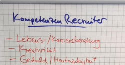 Ausschnitt Recruiter, Personaler 4.0