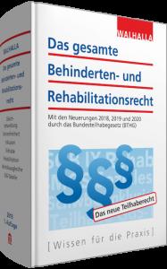 Das gesamte Behinderten- und Rehabilitationsrecht Cover