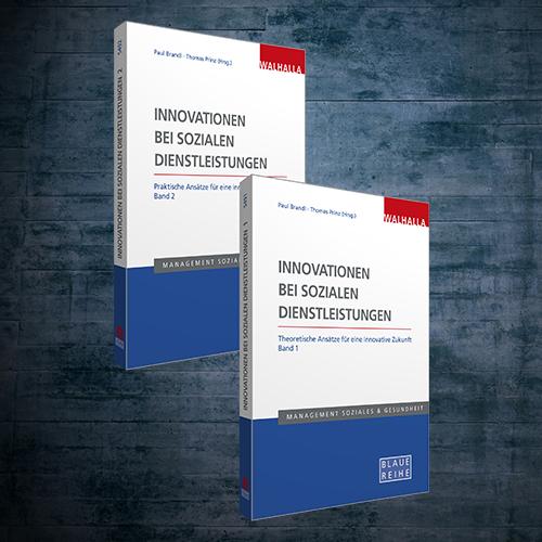 Produktabbildung Innovationen bei sozialen Dienstleistungen (Band 1 und 2)